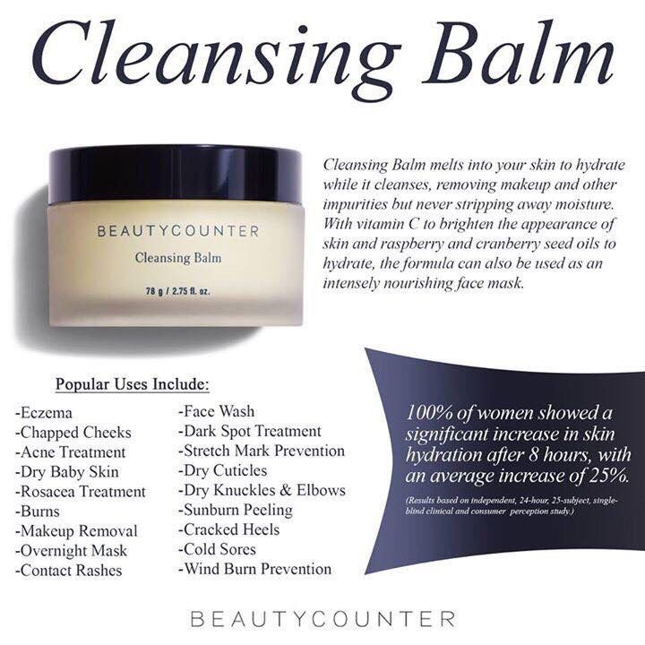 how to use cleansing balm